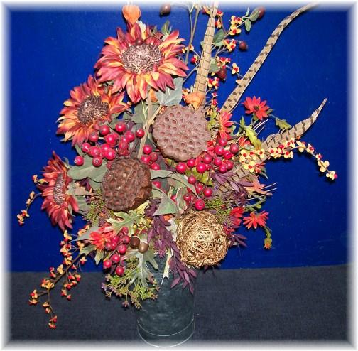 Apple festival flower arrangement