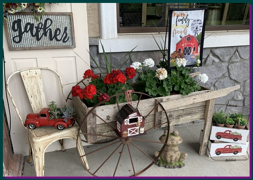 Audrey's display in Lebanon County, PA 5/28/19