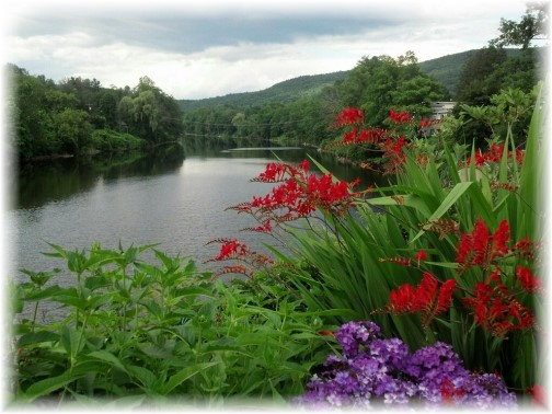 Bridge of Flowers, Shelburne Falls, Massachusetts (Photo by Georgia)