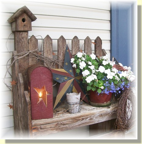Caldwell Porch Display