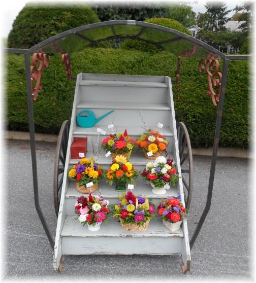 Flower cart 8/29/13