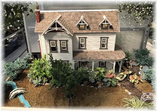 Mini-house at Hillside Acres greenhouse, Quarryville, PA 6/15/18