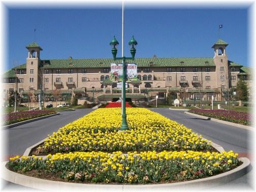 Hotel Hershey flowers