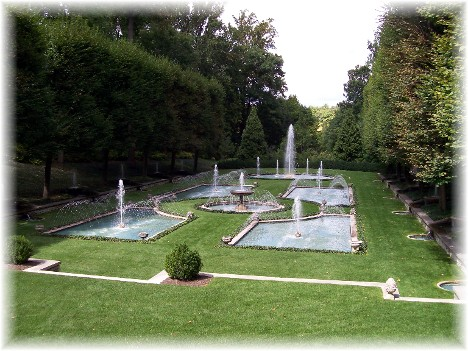 Fountains at Longwood Gardens