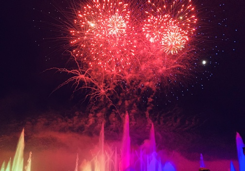 Longwood Gardens  Fountains and Fireworks 8/10/19