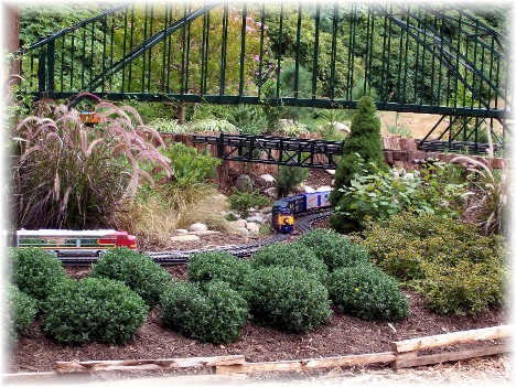 Model railroad at Longwood Gardens
