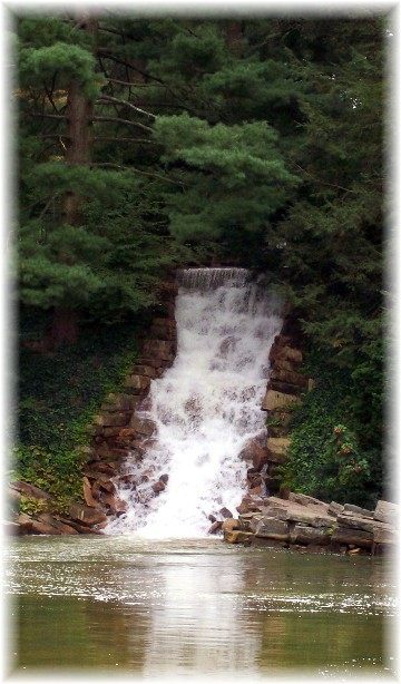 Waterfall at Longwood Gardens