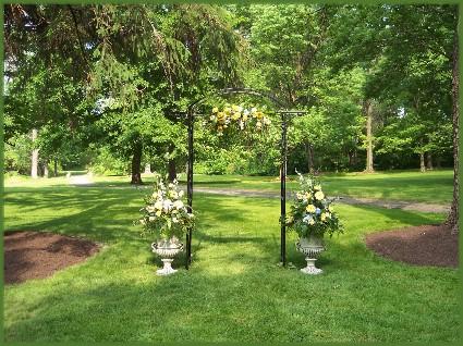 Mansion Inn Wedding Arbor