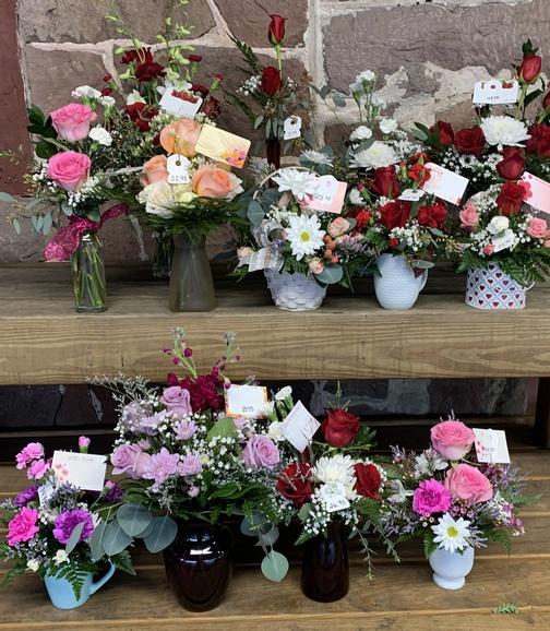 Valentine display at Village Farm Market