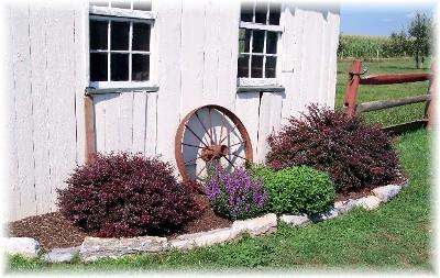 Wagon wheel arrangement
