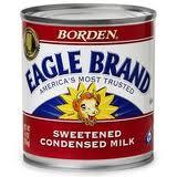 Borden sweetened condensed milk