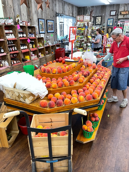 Cherry Hill peaches