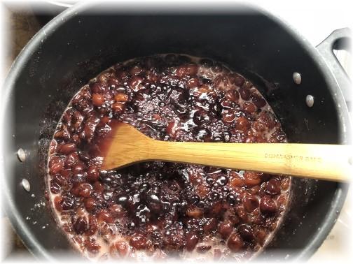 Cherry preserve prep