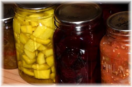 Colorful jars photo by Doris High