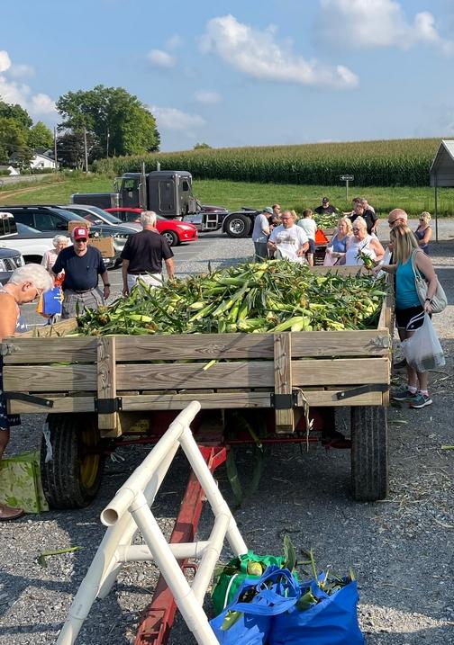 Corn Wagon, New Danville