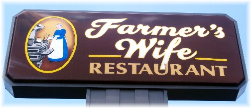 Farmer's Wife restaurant Ono, PA