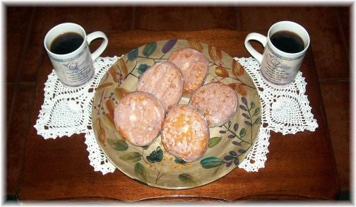 Lancaster County fasnachts with coffee 2/21/12