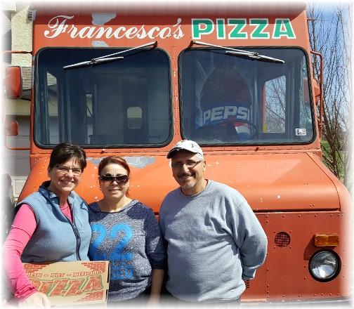 Frank's pizza truck 4/2/17