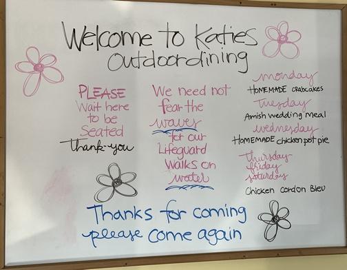 Katies encouragement