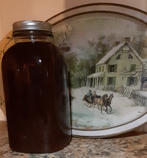 Maple syrup from the Lapp farm