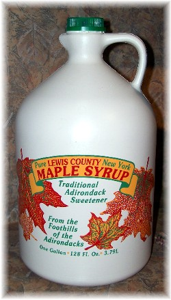 Maple syrup from Lewis County NY