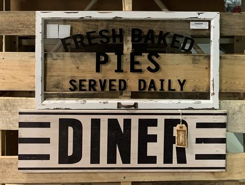 Nostalgic signs at Audrey's 11/12/19