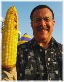 Ohio State Fair roasted corn  8/12