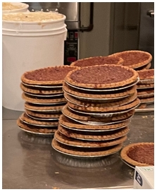 Old Mill pecan pies