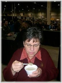 PA Farm Show mushroom soup