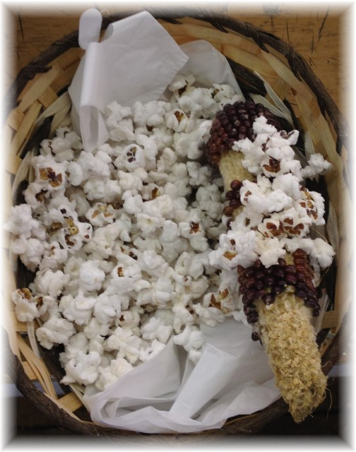 Root's Market popcorn on cob 8/12/14