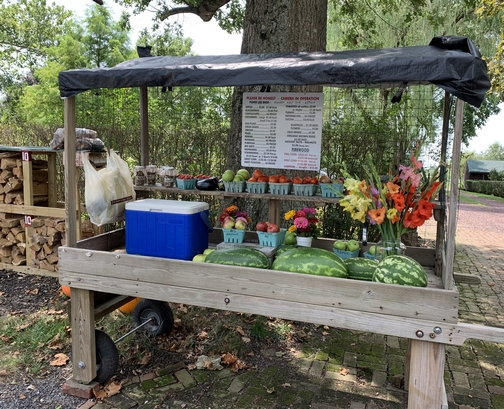 Produce stand 8/20/19