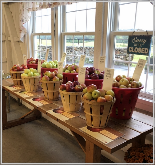 Seyfert orchards apples, Lebanon County, PA 9/25/18
