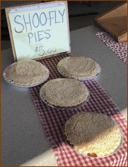 Shoo-fly pies 2/1/19