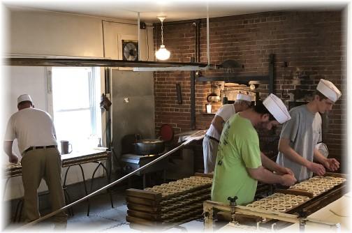 Shuey's pretzel making 2/28/18
