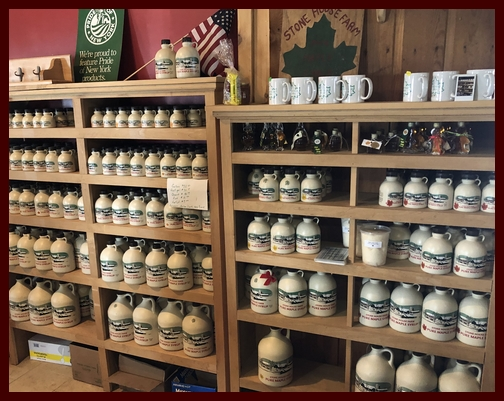 Stone House Farm syrups, New York state 3/23/19
