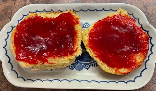 Strawberry/rhubarb jam