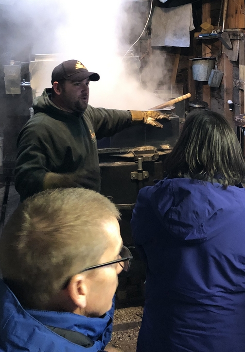 Mud Road Sugar House Syrup Master, New York state 3/23/19