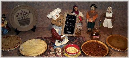 2009 Thanksgiving pies