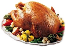 Broasted turkey