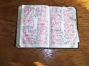 Grandpa's Bible (Brooksyne's grandpa)