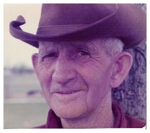 Brooksyne's grandpa, Elbert Sherrell