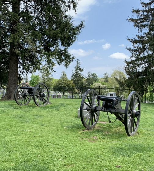 Cannons, Gettysburg, PA 4/28/19