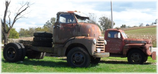Chevrolet cab over engine truck