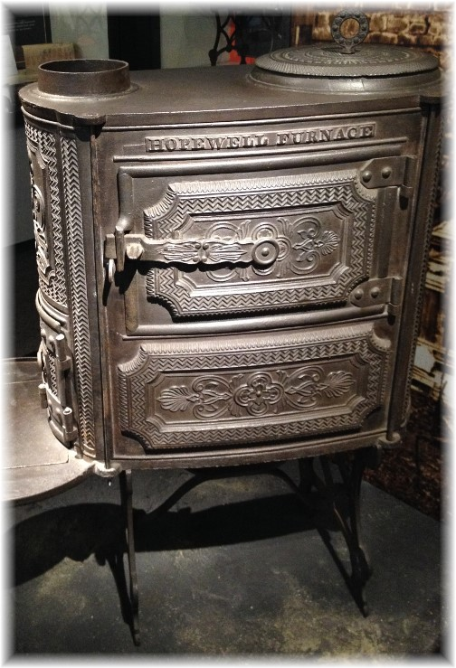 Hopewell Furnace wood stove