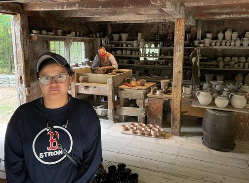 Old Sturbridge Village potter's house