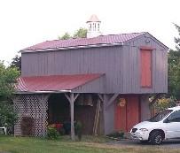 Utility barn