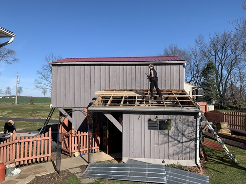 Barn roof replacement