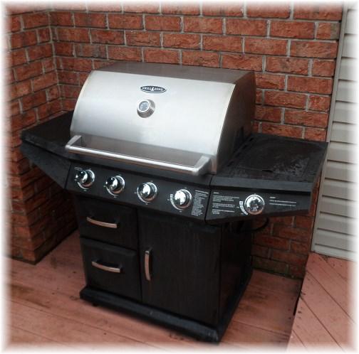 """""""New"""" bbq grill 6/30/13"""