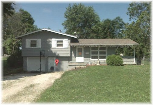 Stephen's boyhood home in Belton MO