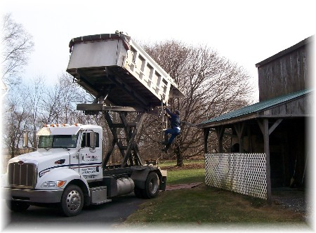 2009 coal delivery to Weber's home